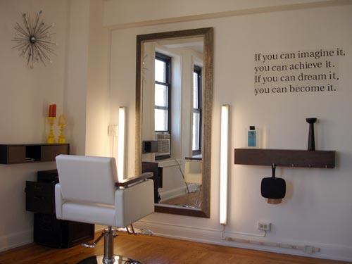Corp G Home Hair Salon Design Ideas